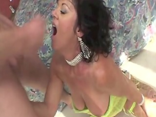 mature wife enjoying cumshots in different sex