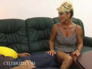 Fucking his aunt with his big cock hardcore hairy