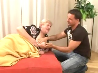 havingsex a fat old unshaved granny
