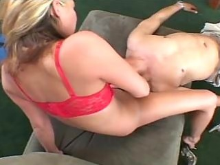 blonde sexy momma plays sweet pussy for