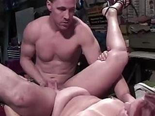 overweight aged red-haired chick gets nailed to