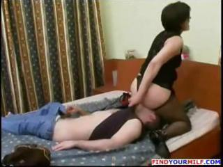 pantyhose russian mamma and lad