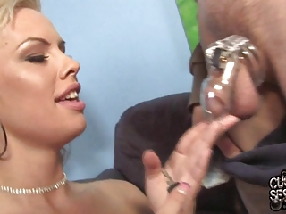 Slut wife fucked by black doctor in front of
