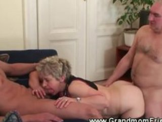 lewd granny t live without her two cocks to
