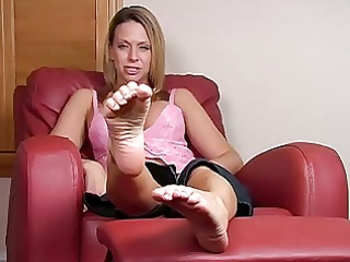 take up with the tongue my feet right now joi