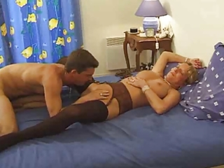 breasty french mom likes juvenile penis by troc