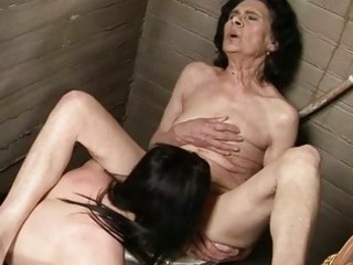 very old granny in lesbian sex