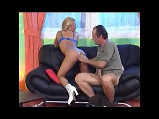 German dirty blond mature casting