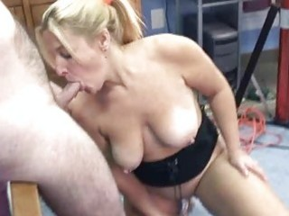 older liisa is fucking a toy and engulfing dick