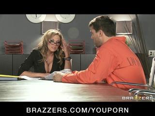 hot big-boob brunette hair milf lawyer nikki sexx