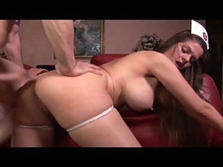 devilish large mangos dark brown milf nurse
