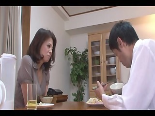 24yr old wife misato shiraishi copulates three
