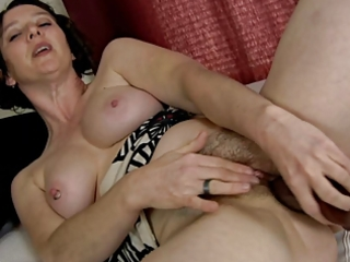 pervert hairy mother i and her sextoy