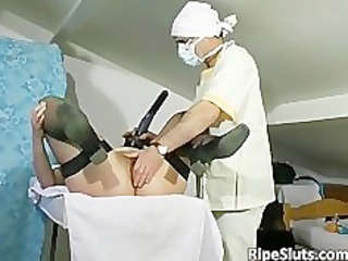 mature redhead whore gets her old snatch