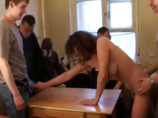 russian mother i stripping and fucking 7 boys!!!