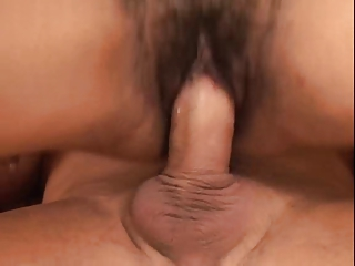 Hairy Mature Indian Aunty Sucks Fucks and