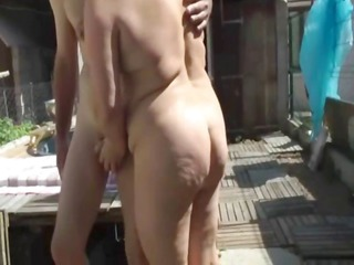 french bbw drilled in a threesome