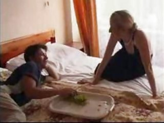 Petite russian mature and younger amateur mom