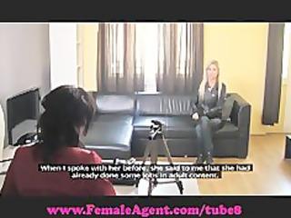 femaleagent. captivating blonde bombshell