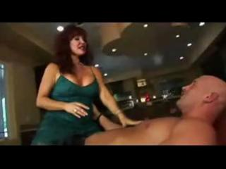 aged redhead mama vanessa bella sucks hard