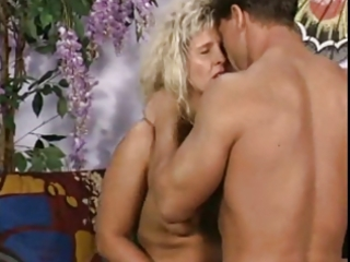 fat mature blond positions and fucks at the