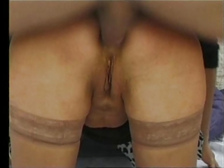 French Granny Painful Anal