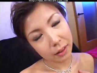 breasty asian mother i asaoka eats three knobs