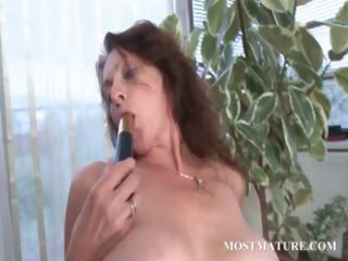 lusty mature vibes her fuck holes