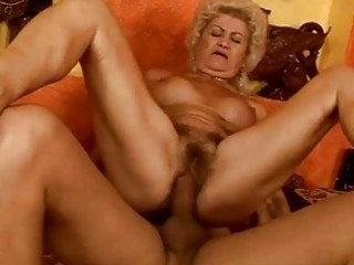wicked breasty granny gets her vagina drilled hard