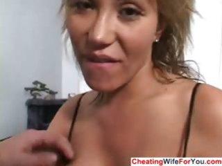 eager abode wife acquires a facial