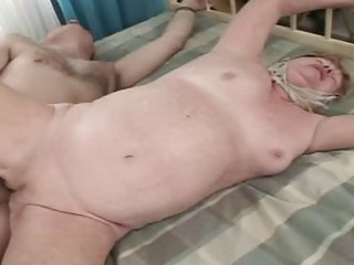old granny receives drilled hard and actually