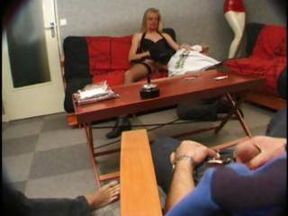 Sexy french blonde milf carole gets stuffed in