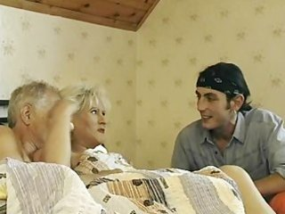 Granny gets tag teamed