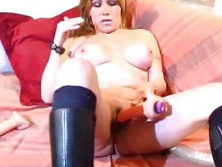 breasty mature non-professional wife toying wazoo
