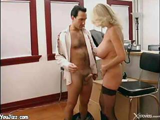 breasty milf wench penny office fucking