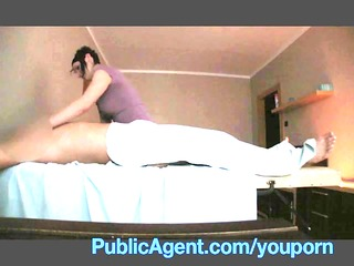 publicagent fucking the masseur d like to fuck