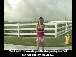 astonishing oriental sweetheart does oral job for