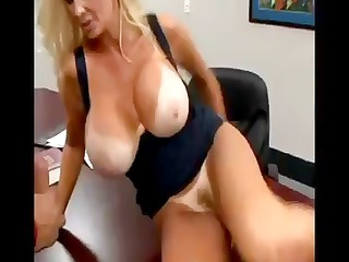 truly breasty golden-haired brittany oneil eats