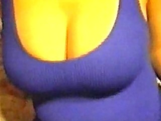 sag my wife blue and purple stretchdress filled