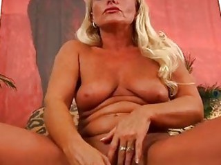 older golden-haired sadie orgasms trion media