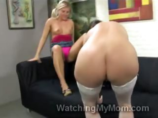 blondie casey cumz helps mamma to take hunky