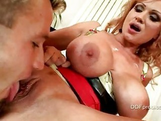 mature bitch with heavy tits acquires her pierced