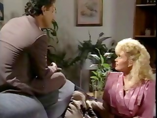 classic porn with blonde secretary blowing and
