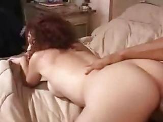 redhead wife receive jizzed on