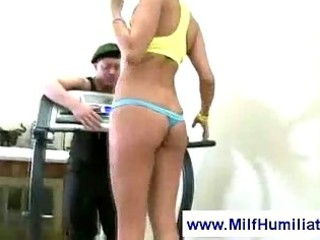 milf and a mean sports instructor