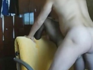non-professional wife acquires anal creampie