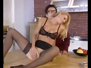 breasty blonde european babe does the dirty deed