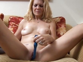 mature chick has a pierced vagina