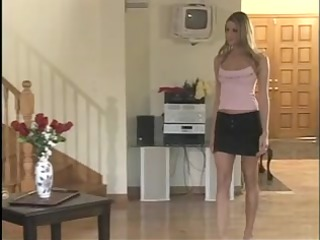 blonde lets an mature boyfrend smack her impure