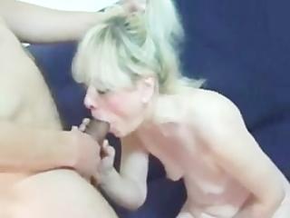 granny has pleasure with juvenile man